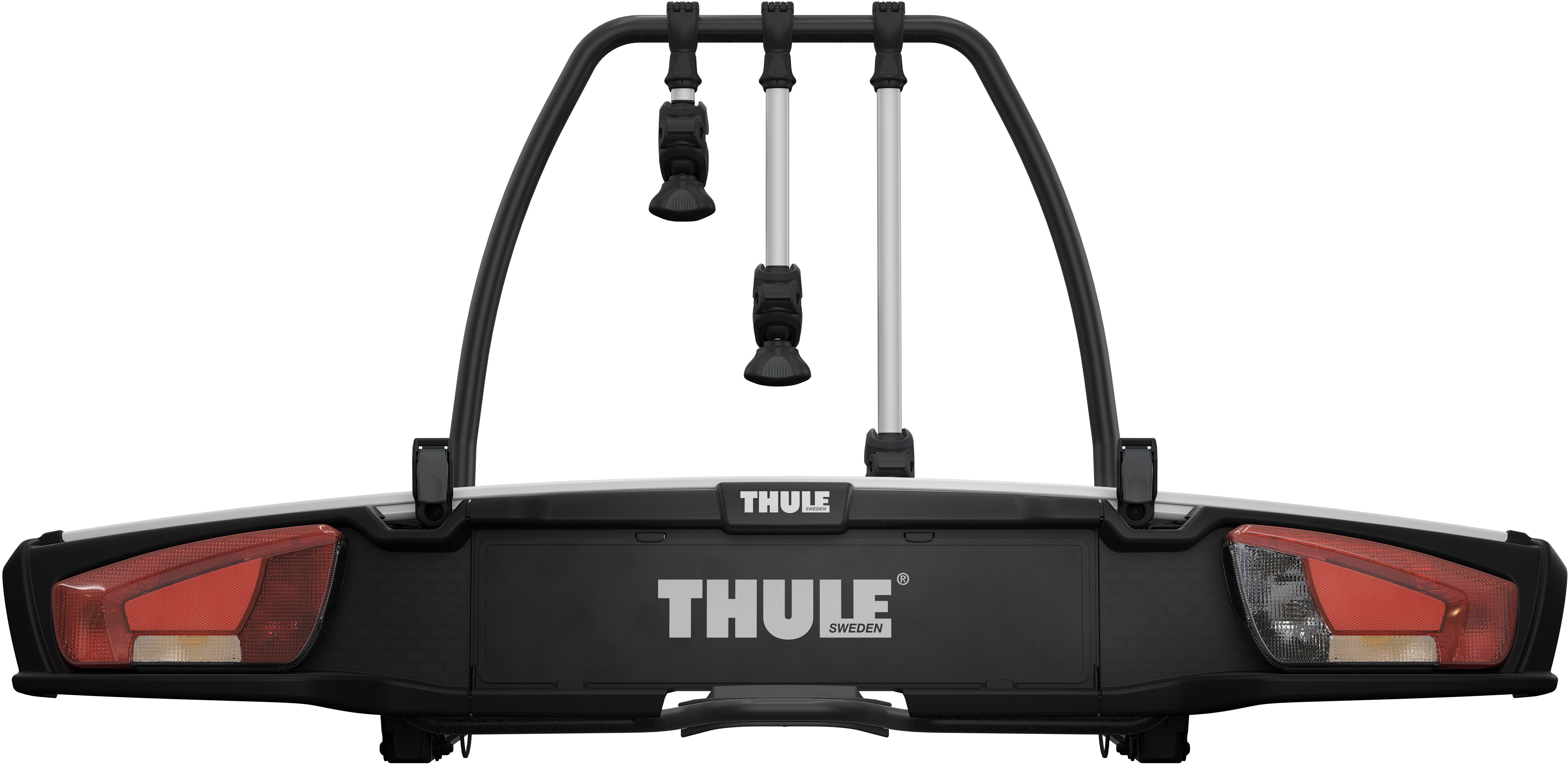 thule velospace xt fahrradtr ger f r 3 fahrr der online. Black Bedroom Furniture Sets. Home Design Ideas